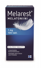 MELAREST MELATONIINI NIELTÄVÄ 1 MG X100 TABL