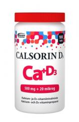 CALSORIN 500 MG + D3 20 MIKROG 100 TABL