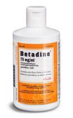 BETADINE 75 mg/ml ihonpuhdisteliuos 250 ml